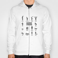 The Anatomy of a Festival Crowd Hoody