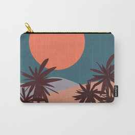 Abstract Landscape 13 Portrait Carry-All Pouch
