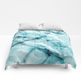 blue ice Comforters