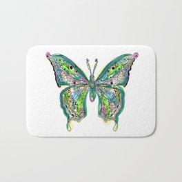 Fly Butterfly Bath Mat