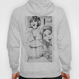 Black & White GingerDoodle Hoody