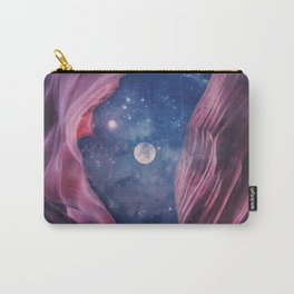 Grand Canyon with Space Collage Carry-All Pouch