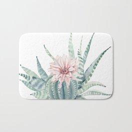 Petite Cactus Echeveria Bath Mat