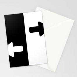 Left or Right Stationery Cards