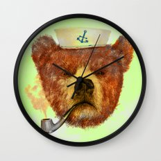 Mr.Bear Wall Clock