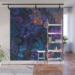 Space Garden Cosmos Wall Mural