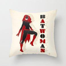 Batwoman Throw Pillow