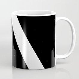 (TRIANGLE) (BLACK & WHITE) Coffee Mug