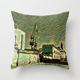 Urban Graphice Photo Art Throw Pillow