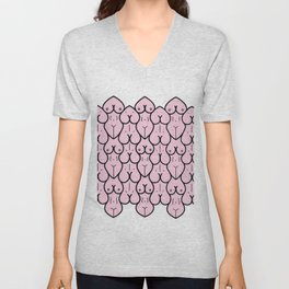 boobs and booty Unisex V-Neck