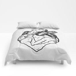 One heart. Comforters