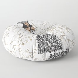 Kayla Royal Floor Pillow