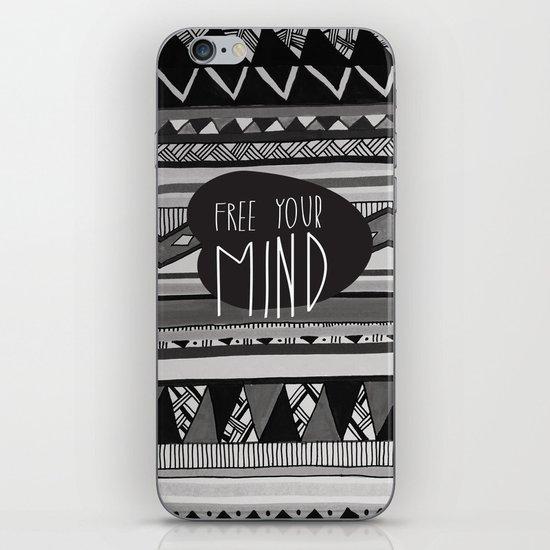 FREE YOUR MIND iPhone & iPod Skin