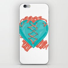 Ribbon Heart iPhone & iPod Skin
