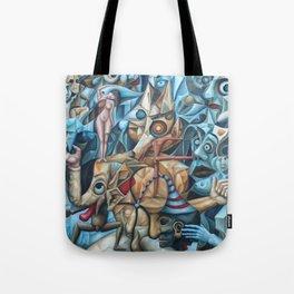 The Sea In The Fish Tote Bag