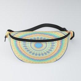 Spring Color Mandala Design Fanny Pack