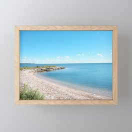 AFE Tommy Thompson Park 2, Beach Photography Framed Mini Art Print