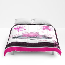 BC Know The Risk Butterfly Comforters