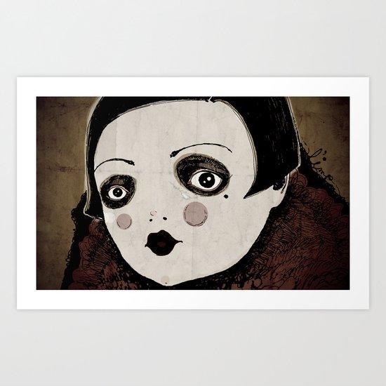 wall-eyed Art Print