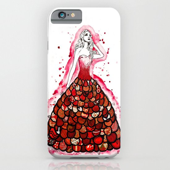 The Red Dress iPhone & iPod Case