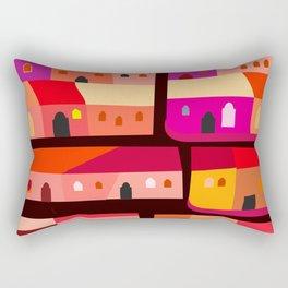Tepito de Noche Rectangular Pillow