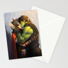 William and Theodore 10 Stationery Cards