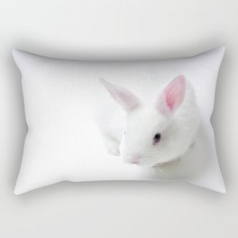 Out Of The Hat - Magic Rabbit  Rectangular Pillow