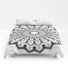 Geometric mandala pattern Comforters