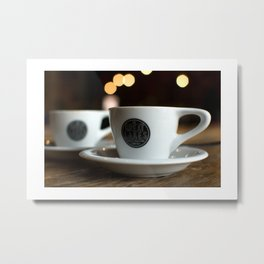 """""""there's too much caffeine in your bloodstream"""" Metal Print"""