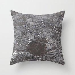 Berlin - city map Throw Pillow