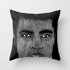 Mohamed Ali 2 Throw Pillow