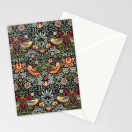 Strawberry Thief by William Morris 1883 Antique Vintage Pattern CC0 Spring Summer Stationery Cards