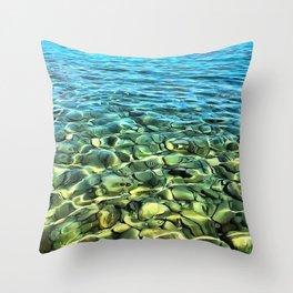 The Seashore Throw Pillow