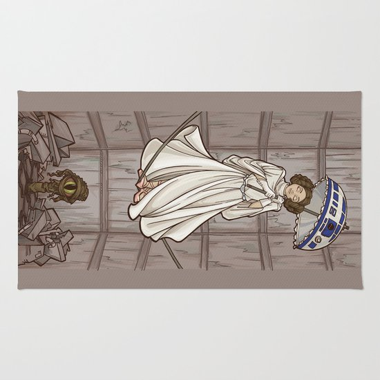 Leia's Corruptible Mortal State Rug