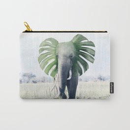 Monstera Elephant Carry-All Pouch