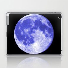 Blue Moon looks like Earth Laptop & iPad Skin