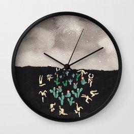 Midnight Desert Wall Clock