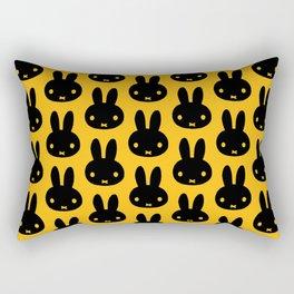 bunnies everywhere ultra pattern Rectangular Pillow
