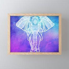 Indian Elephant #2 Framed Mini Art Print