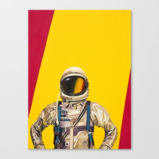 One Golden Arch Canvas Print