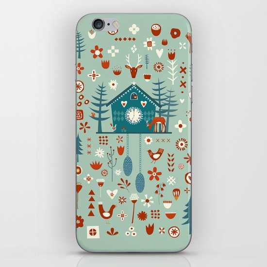 Cuckoo Clock iPhone & iPod Skin