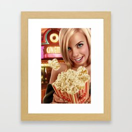 CINEMA POP Framed Art Print