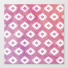 Aztec Pattern 10 Canvas Print