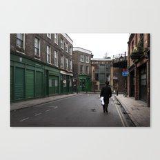 + On park street - London (GBR) Canvas Print
