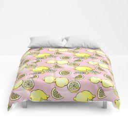 Pink Lemonade Comforters