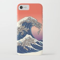 The Great Wave of Sloth Slim Case iPhone 7