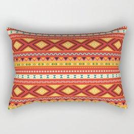 Tribal #5 * Ethno Ethnic Aztec Navajo Pattern Boho Chic Rectangular Pillow