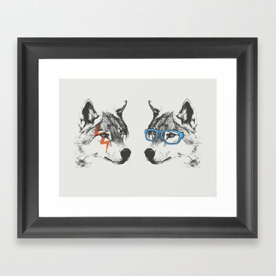 Brothers Framed Art Print