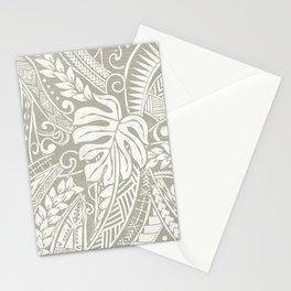 Vintage Organic Samoan Tribal Design Stationery Cards