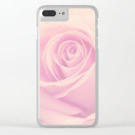 Vintage rose - Beautiful lightpink flower - Roses Clear iPhone Case